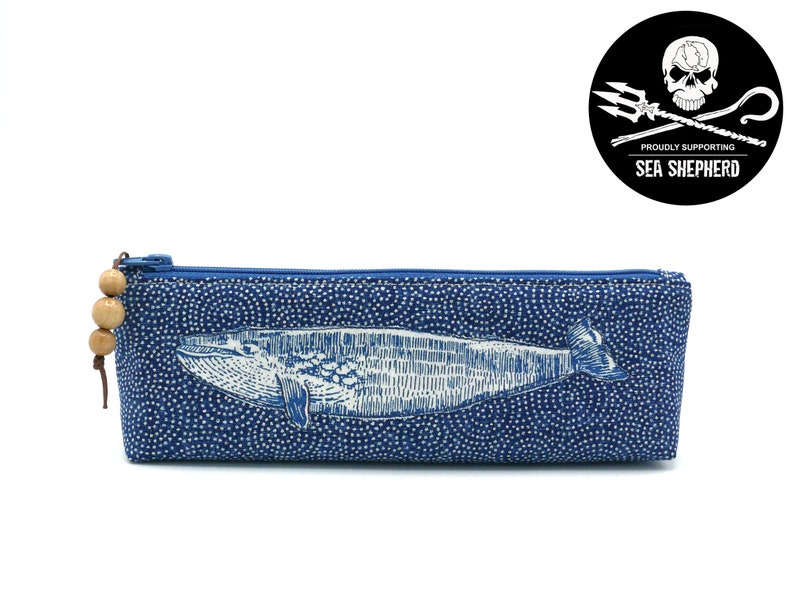 Pencil case Whale  Save the Oceans  Japanese  image 0