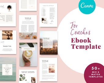 ebook template perfect for Coaches and Course Creators
