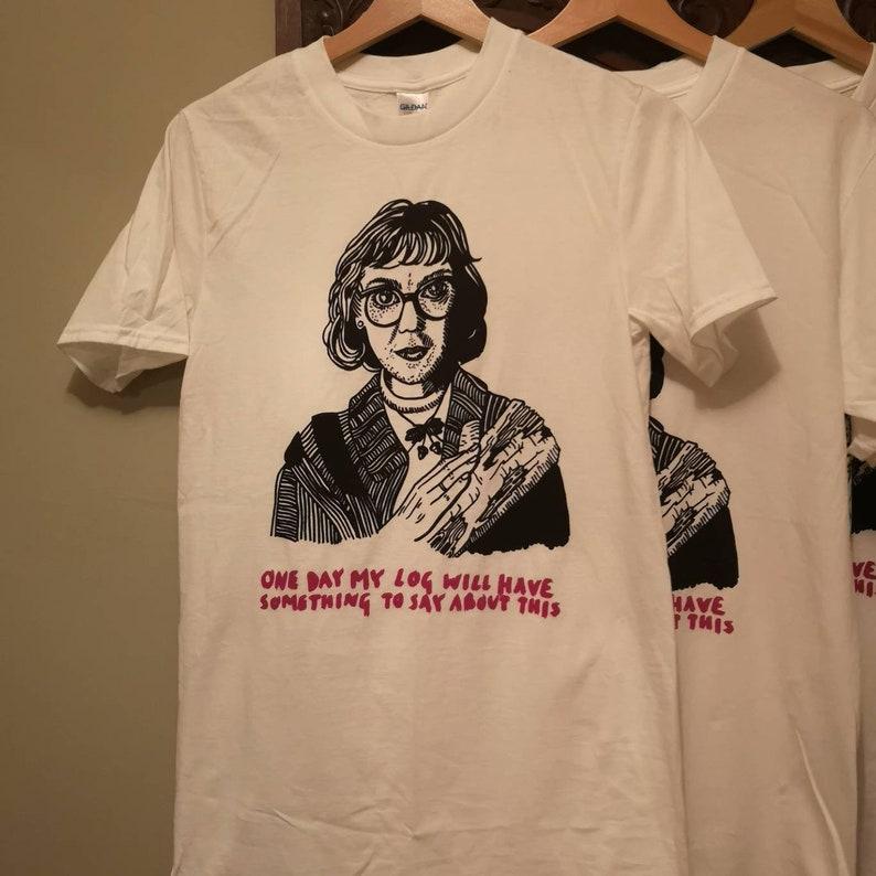 05b8d75d759d8 Log Lady shirt