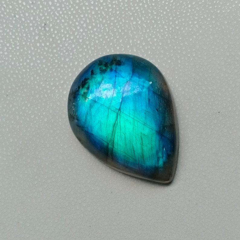Beautiful Multi Fire Labradorite Cabochon,Natural  Labradorite Gemstone,Loose Gemstone For jewelry Making 36.40 Carat 30x22x7mm
