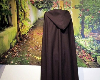 brown cloak Cape Viking Carnival Medieval
