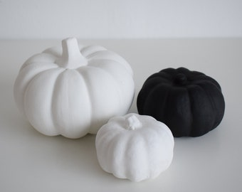 Large Concrete Pumpkin | Halloween Decor | Fall Decor | Autumn Decor |