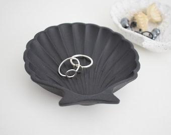 Concrete Shell Trinket Dish | Trinket Dish | Styling Tray | Ring holder | Jewellery Holder