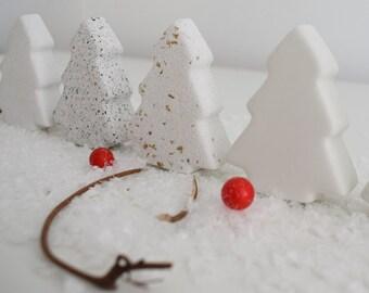 Mini Concrete Christmas Tree | Wedding Favour | Christmas Decoration | Fir Tree Ornament | Christmas Table Decor | Handmade Decoration