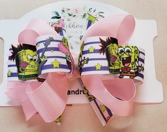 df375ba3579b Spongebob Loopy Hair Bow