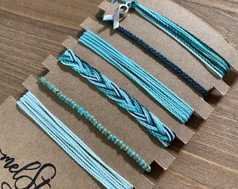 Ovarian Cancer Bracelet Etsy