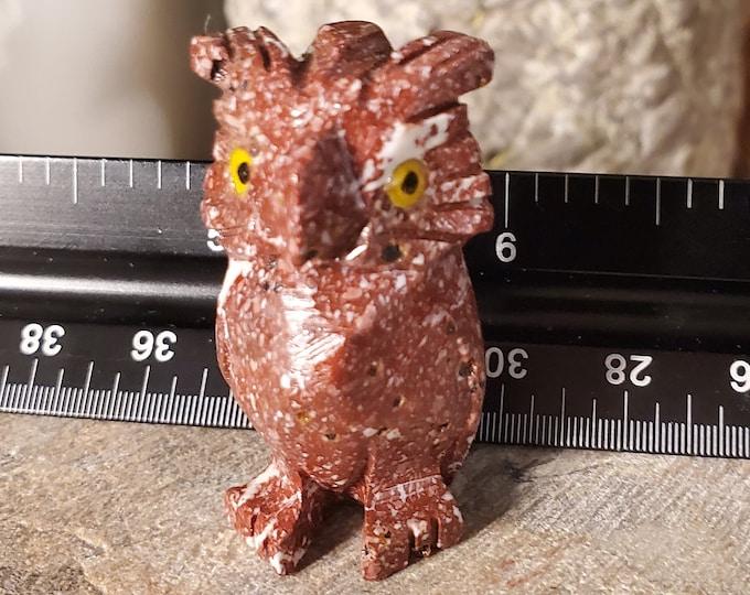 Dolomite Owl Spirit Animal Totem