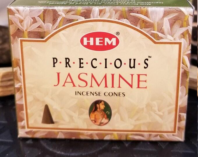 HEM Precious Jasmine Incense Cones