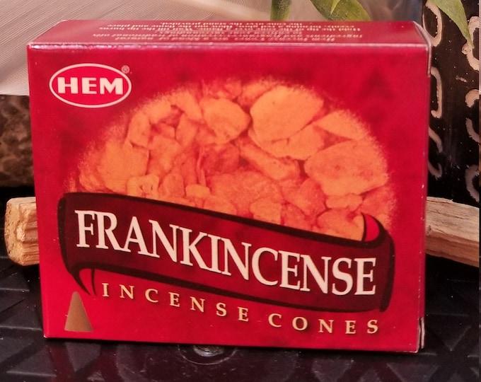 HEM Frankincense Incense Cones INC62