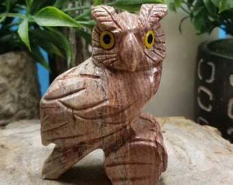 "Dolomite 3"" Spirit Animal Totem /owl"