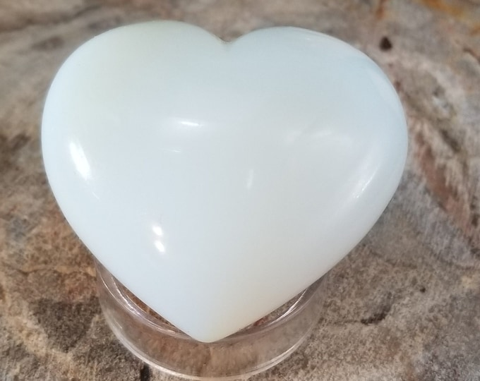 Opalite Puffed Heart (o70)