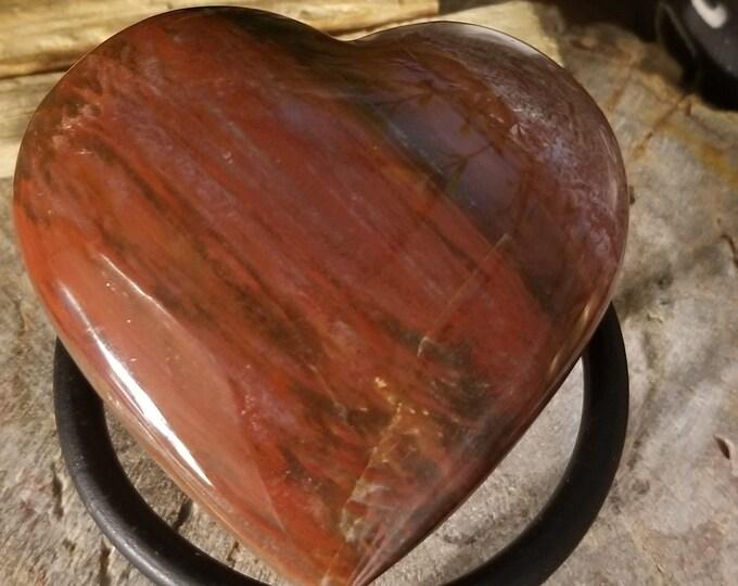 Petrified Wood Heart (p27)