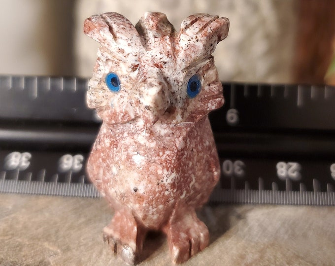 Dolomite Owl Spirit Animal Totem