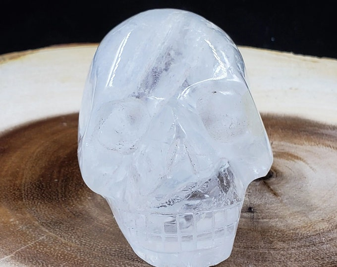 2 Inch Clear Quartz Skull