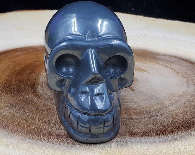 2 Inch Hematite Skull