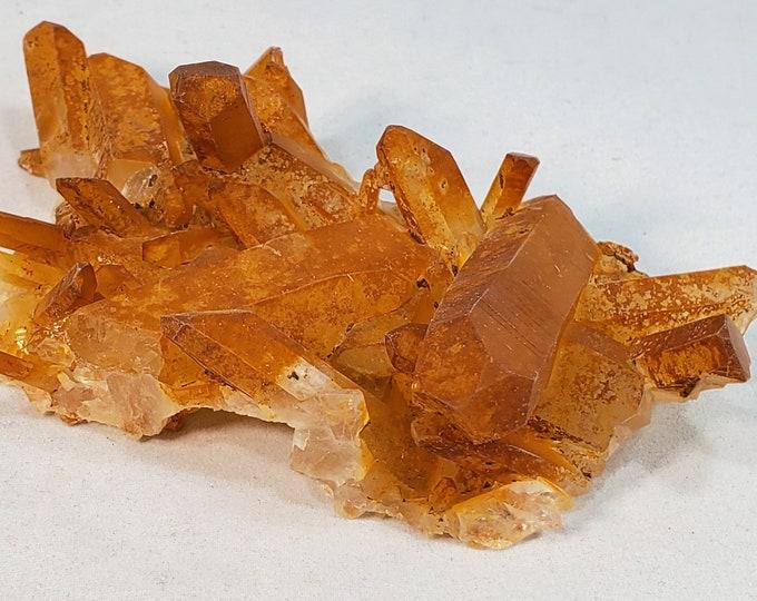 Golden Quartz Healer, Natural Points Cluster