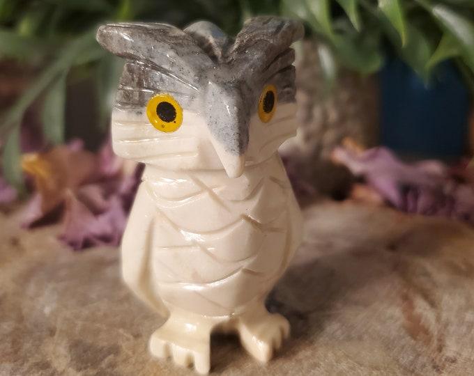 Dolomite Owl Spirit Animal/Totem