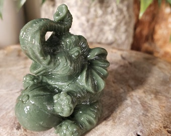 Elephant Jade Spirit Animal/Totem
