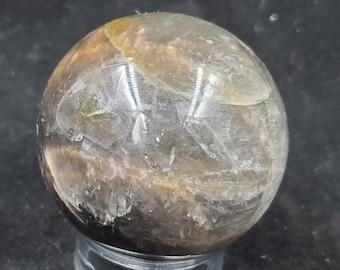Black Moonstone Crystal Sphere B171
