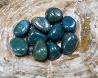 Tumbled Bloodstone Jasper Stones