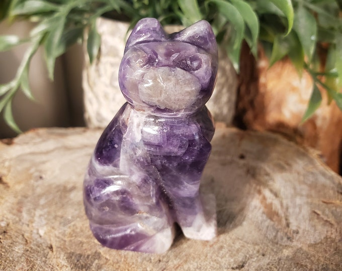 Amethyst Cat Spirit Animal Totem