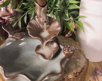 Ceramic Backflow Incense Burner/Dragonfly