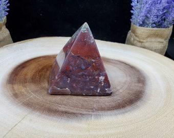 Pampa Red Jasper Pyramid