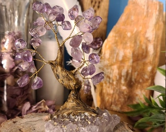 Amethyst Bonsai Tree