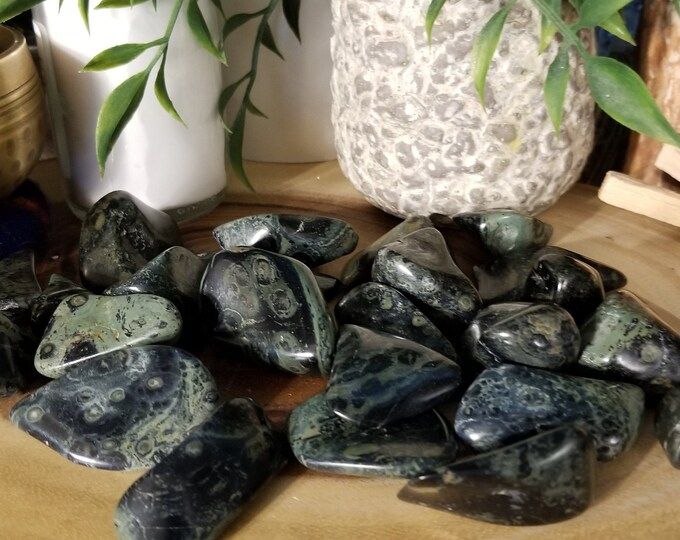 One Tumbled Kambaba Jasper