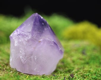 Natural Raw Amethyst Point