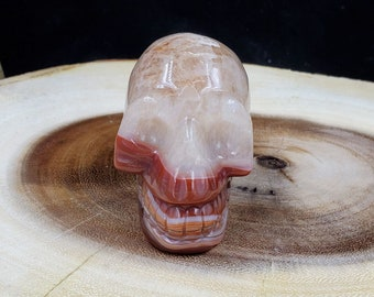 2 Inch Carnelian Skull C333