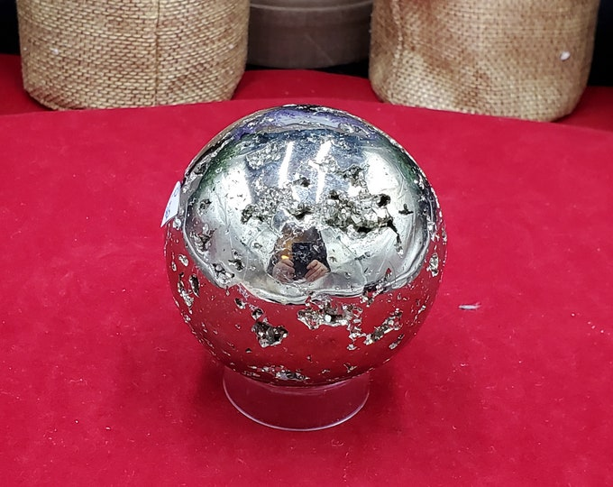60mm Pyrite Sphere