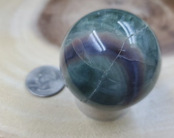 Ocean Jasper Sphere, 47 mm in Diameter, Weighs 144 grams