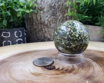 Ocean Jasper Sphere, 43 mm - 112 grams