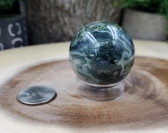 Ocean Jasper Sphere, 42 mm in Diameter, Weighs 101 grams