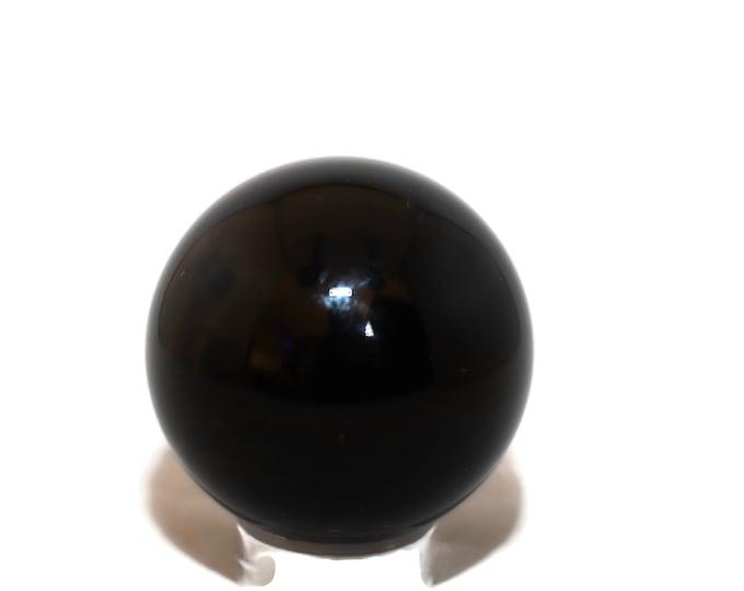 60 mm Rainbow Obsidian Sphere R166