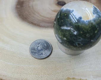 Ocean Jasper Sphere, 45 mm in Diameter, Weighs 131 grams