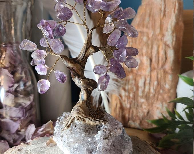 Amethyst Bonsai Gemstone Tree