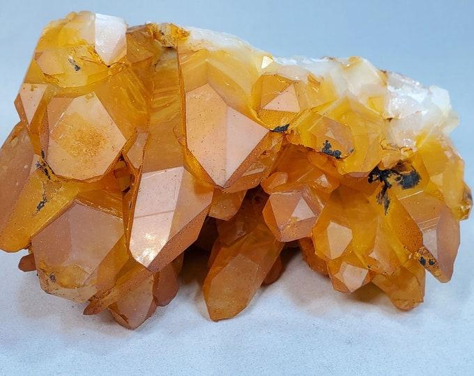 Natural Golden Healer Quartz Crystal from Arkansas G122