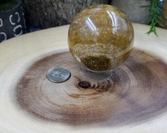 Ocean Jasper Sphere, 61 mm - 318 grams