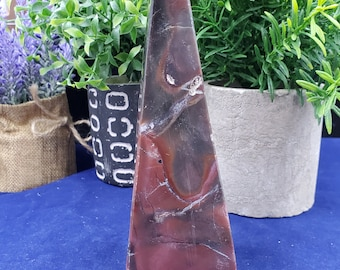 Pampa Red Jasper Obelisk P154