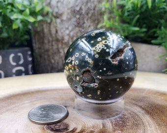 Ocean Jasper Sphere, 46 mm - 132 grams