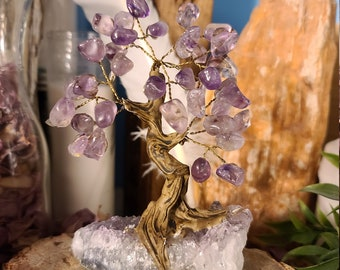 Amethyst Bonsai Gemstone Tree