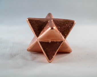 Copper Merkaba, 1.75 Inches