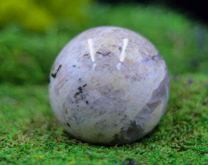 Cream Moonstone Sphere