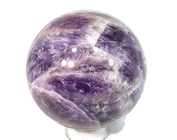 Amethyst Sphere, 78 mm A329