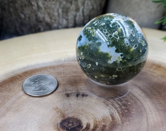 Ocean Jasper Sphere, 45 mm - 125 grams