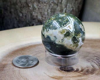 Ocean Jasper Sphere, 40 mm - 92 grams