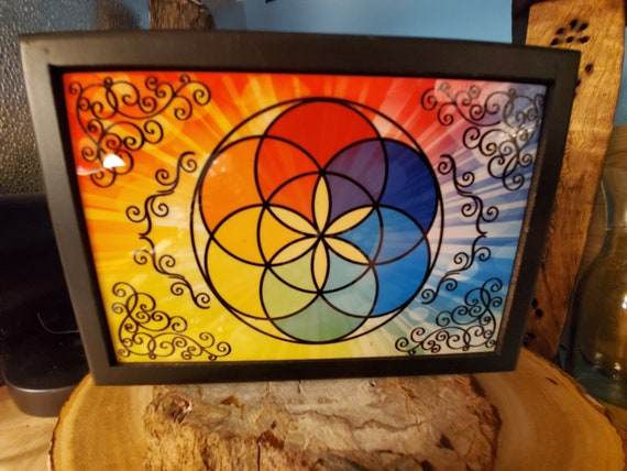 Seed of Life Wooden Box