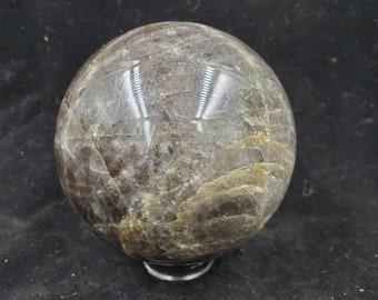 Black Moonstone Crystal Sphere B152